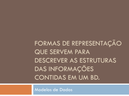 Banco de Dados - Arquivo 03