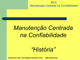 MCC-Confiabilidade