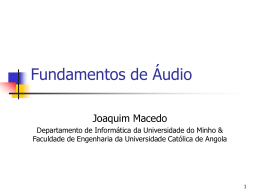 Fundamentos de áudio