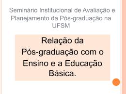 Relação da Pós-graduação com o Ensino e a Educação Básica