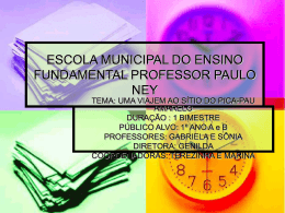 escola municipal do ensino fundamental professor paulo ney