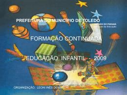 formação continuada educação infantil pré
