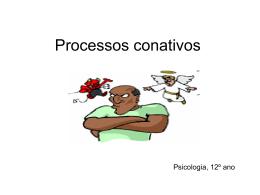 Processos conativos 1