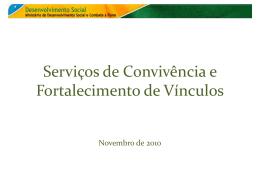 Slide 1 - Assistência e Desenvolvimento Social