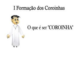I Formação para Coroinhas ( Diego).