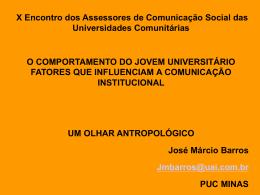 Palestra José Marcio Barros - Associação Brasileira das