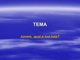 TEMA - Rita Rafael