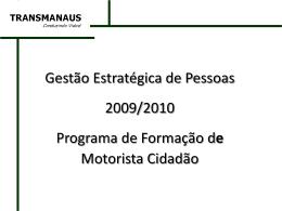 Programa de Formação de Motorista Cidadão