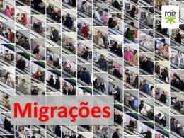 migrações - Agrupamento Escolas da Ericeira