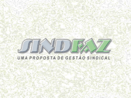 sindfaz - sindesp-mg