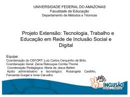 4. Projeto Inclusão Social e Digital