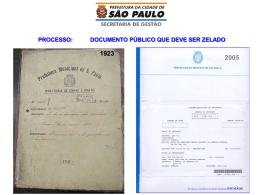 processo - Prefeitura de São Paulo