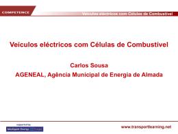 Veículos eléctricos com Células de Combustível