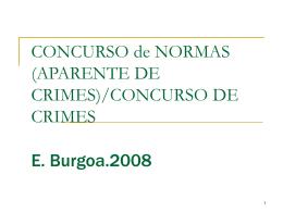 concurso efectivo crimes - Faculdade de Direito da UNL