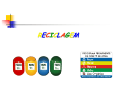 Reciclagem - Fernando Santiago dos Santos