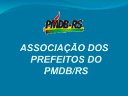 Clique aqui para acessar a apresentação de Paulo - PMDB-RS