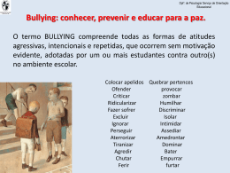 Bullying - Externato São José