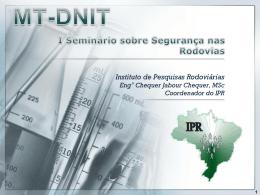 Medidas a serem tomadas IPR 2006