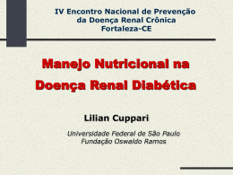 Terapia Nutricional na DRD