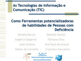 Apresentação do PowerPoint - NEC