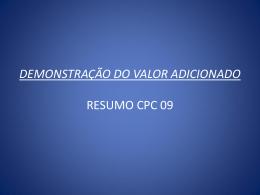 OBJETIVO DA DVA A PARTIR DE 01/01/2008,PASSOU A