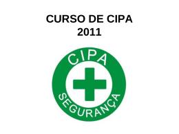 CURSO DE CIPA 2009
