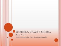 Gabriela, Cravo e Canela