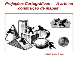 Projecoes Cartograficas aula[1]