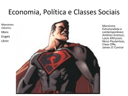 Economia, Política e Classes Sociais