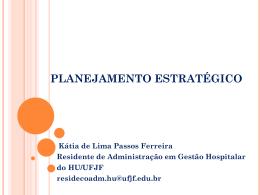Planejamento estratégico por Katia Passos