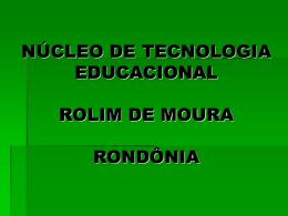 Projeto Textos Literários Em Movie Maker - Rondônia
