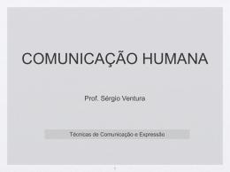 Aula I – conceito de comunicação