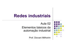 Elementos básicos - redes industriais