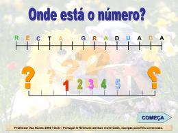 reta numérica