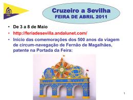 10:00 - Associação Nacional de Cruzeiros