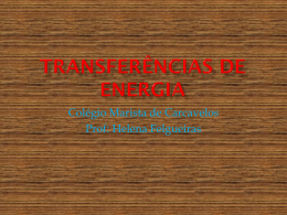 Transferências de energia