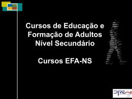 Cursos EFA-NS