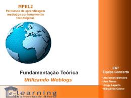 Teorias de Aprendizagem - Bem-vindo/a à página da Educação