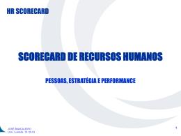 balanced scorecard - IV Seminário Gestão de Recursos Humanos