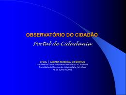 observatório do cidadão