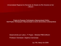 MAQUIAVEL (1469-1527) O contexto histórico