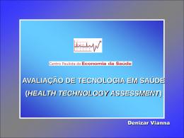 Apresentação Dr. Denizar Vianna