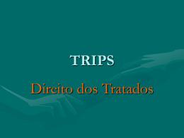 TRIPS e o direito dos tratados