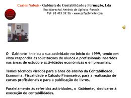 11ºANO - Carlos Nabais