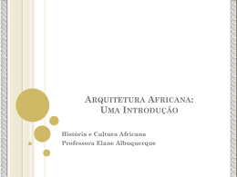 Arquitetura Africana