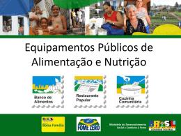 Slide 1 - REBRAE - Rede Brasileira de Alimentação e Nutrição do