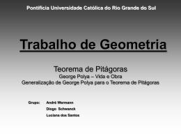 Generalização de Polya ao teorema de Pitágoras