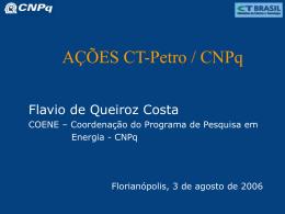 Edital CT-Petro CNPq 01/2001
