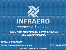 The case of ICT in Brazil`s airports. Edson Boldezan