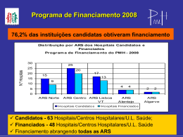 Programa de Financiamento 2008/2009 [PDF